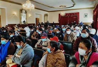 La socialización en Oruro I Senado.
