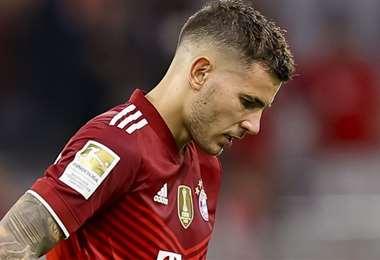 Lucas Hernández juega en el Bayern de Múnich desde 2019. Foto: Internet
