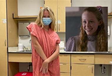 Miranda McKeon fue diagnosticada en julio