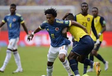 Colombia y Ecuador jugarán este jueves en Barranquilla. Foto: Internet
