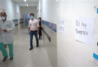 Hospitales de segundo nivel sin equipos funcionando