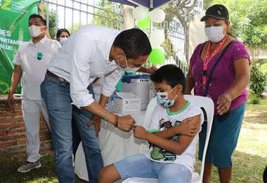Sedes impulsa el vacunatón para este domingo. Foto: JC Torrejón