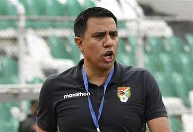César Farías, entrenador de la selección boliviana. Foto: AFP