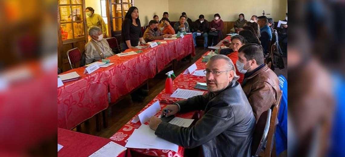 Anoche los cívicos del país se reunieron en Potosí