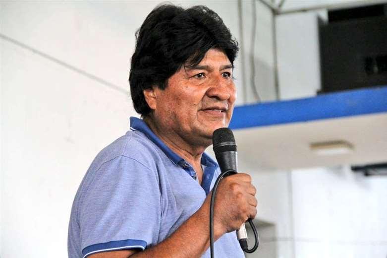 El expresidente Evo Morales. Foto: Prensa Evo Morales