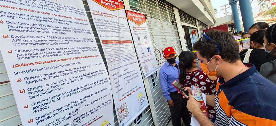 Desde mañana se inicia la devolución de los aportes a las AFP (Foto: Jorge Gutiérrez)