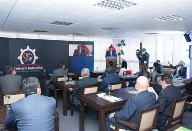 Durante el primer día del evento organizado por la CNI (Foto: CNI)