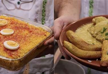 Sopa tapada y Pipián de pollo, recetas tradicionales/Foto: Brissa Pabón