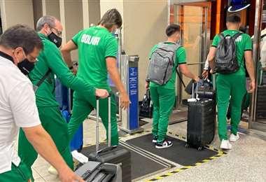 Bolivia vuelve a casa para esperar a Perú. Foto: FBF