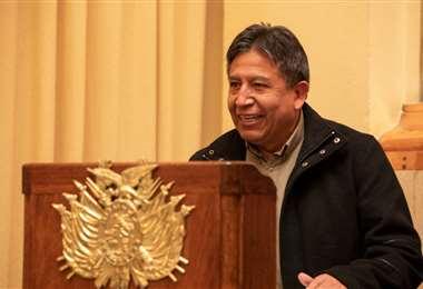 David Choquehuanca, segunda autoridad nacional I Vicepresidencia.