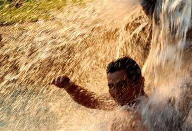 Las altas temperaturas continuarán durante el fin de semana/Foto EL DEBER
