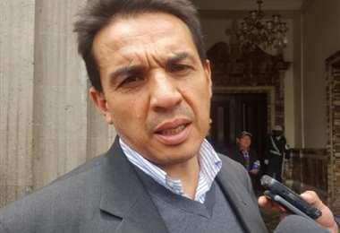El exministro de Economía, Mario Guillén
