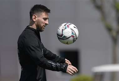 Messi dejó el Barcelona para fichar en el PSG. Foto: AFP