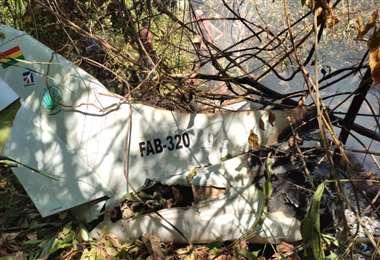 La aeronave realizaba un vuelo de apoyo a profesionales de salud