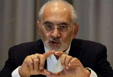 El expresidente Carlos Mesa.