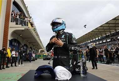 Valteri Bottas, piloto finlandés de Fórmula Uno. Foto: AFP