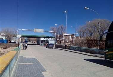 Frontera con Argentina