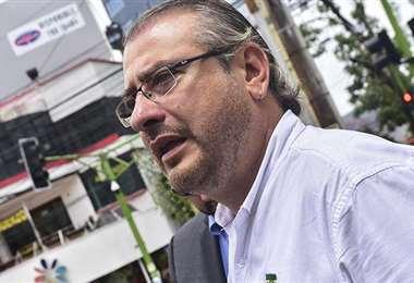 Calvo pidió a la población defender la democracia/Foto: APG