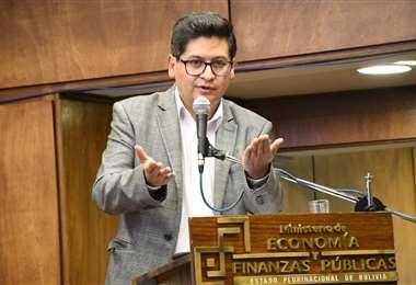 El ministro asegura que el mercado impulsa la recuperación/Foto: ABI