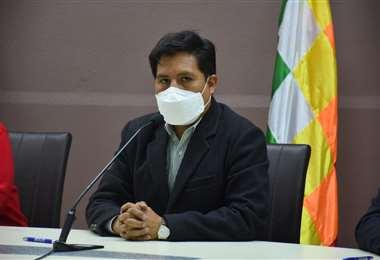 El ministro Jeyson Auza I Salud.