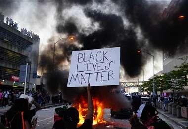 Foto de archivo de una protesta en contra de la Policía en EEUU   AFP