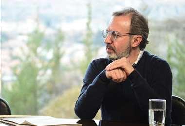 Jorge Richter, vocero presidencial