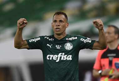 Breno Lopes marcó el gol de la victoria en la final de la Libertadores. Foto. AFP