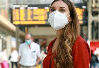 El buen uso de las máscaras puede brindar inmunidad