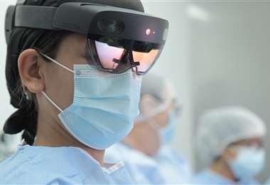 La operación se desarrolló en la clínica Foianini
