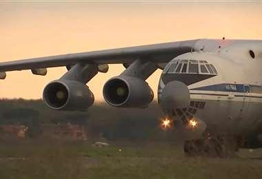 El avión ruso estuvo en Bolivia en 2019. Foto: SputnikNews