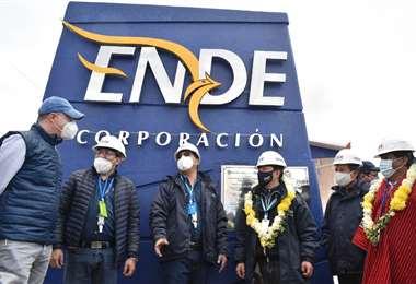 Autoridades nacionales participaron de la inauguración de la megaobra /Foto: APG Noticias