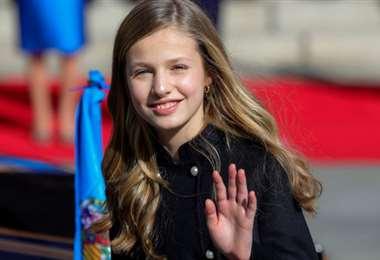 La princesa, de 15 años, comenzará clases en agosto