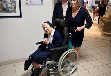 La anciana cumplirá 117 años este 11 de febrero. Fotos: Internet