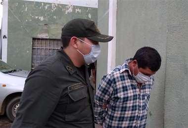 Pablo Giovanny Chirinos detenido