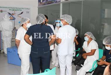 Hay malestar entre el personal del hospital de la ciudadela. Fotos: Juan C. Torrejón