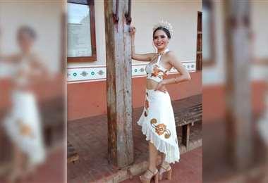 Nayra Salinas Lobo, reina del Carnaval de San Ignacio 2020 y 2021