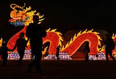 El Año Nuevo Lunar es la fiesta más importante en China. Foto AFP