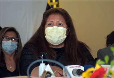 Inés Quispe, ex presidenta de The Strongest. Foto: APG Noticias