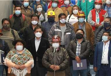 También crearon el Consejo Nacional en Defensa de la Salud. Foto: ABI