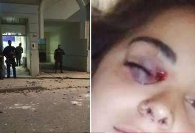 La agresión a la amiga de Úrsula se dio por parte de otro policía
