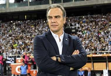Martín Lasarte, nuevo DT de la selección chilena. Foto: AFP
