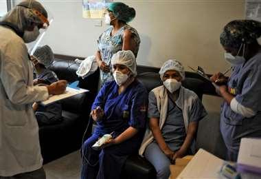 Bolivia sobrepasa los 11.000 fallecidos por Covid-19. Foto: AFP