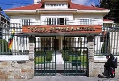 El TSE revisará la demanda en contra de UCS. Foto: Internet
