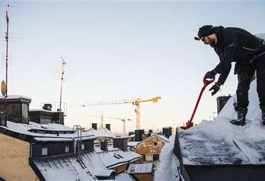 La seguridad es primordial en esta actividad. Foto AFP