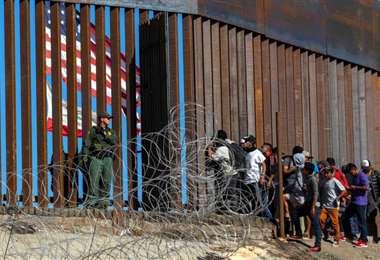 Trump tuvo durante toda su presidencia la lucha contra la inmigración irregular