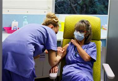 Vacunación anticovid en Francia/Foto: AFP