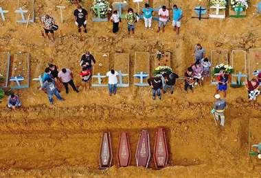 Brasil es el país más afectado de América Latina. Foto. Internet