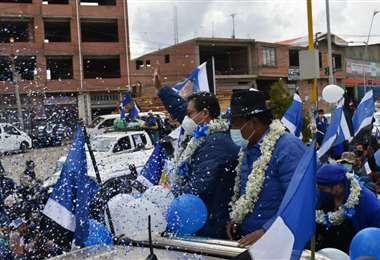 Caravana del MAS en El Alto I APG Noticias.
