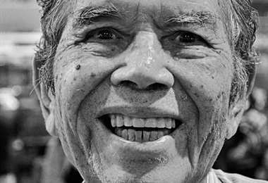 La sonrisa eterna de don Nacho Talavera. Foto: internet