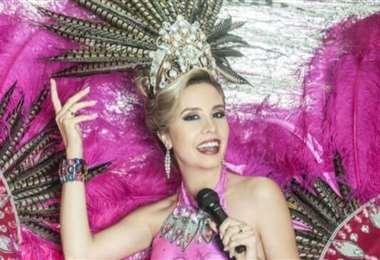 Iciar Díaz es la reina del Carnaval cruceño solidario 2021
